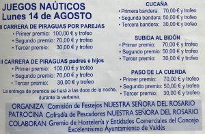 Premios Juegos Nauticos Luarca 2017