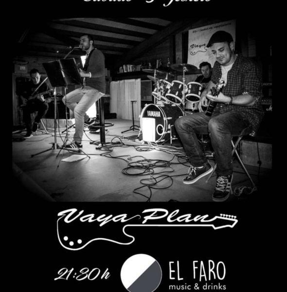 Concierto de «Vaya Plan» en El Faro