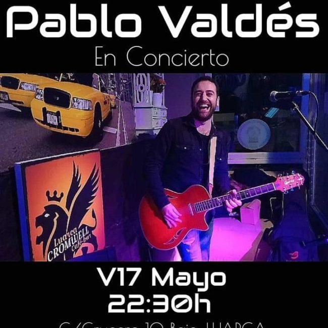 Concierto de Pablo Valdés en el Cromwell