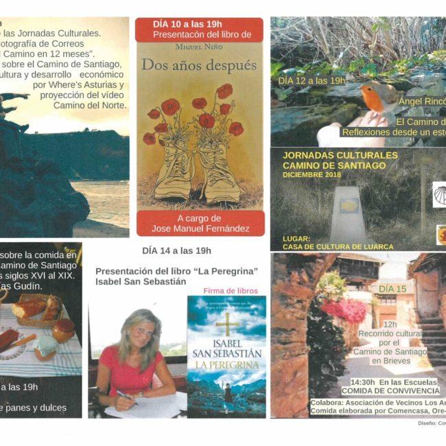 """Charla/Coloquio: """"Comida en las ventas del Camino de Santiago en Valdés"""""""