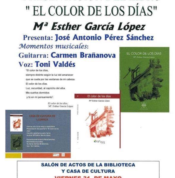 Presentación del libro 'El color de los días'