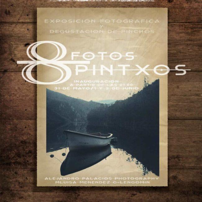 Exposición y degustación '8 fotos, 8 pinchos'