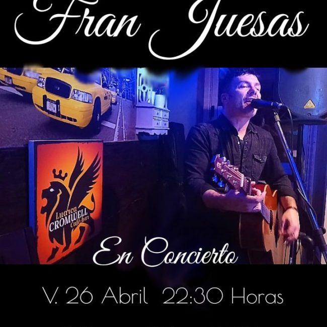 Concierto de Fran Juesas