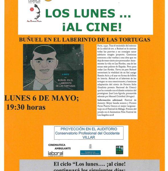 Cine: Buñuel en el laberinto de las tortugas
