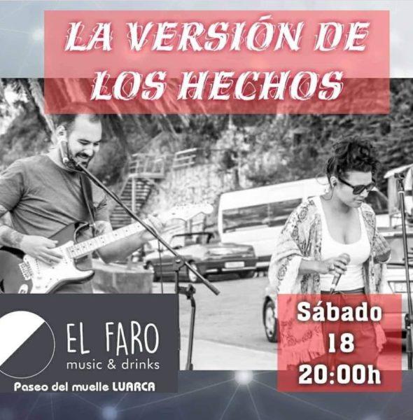 Concierto de «La versión de los hechos» en El Faro