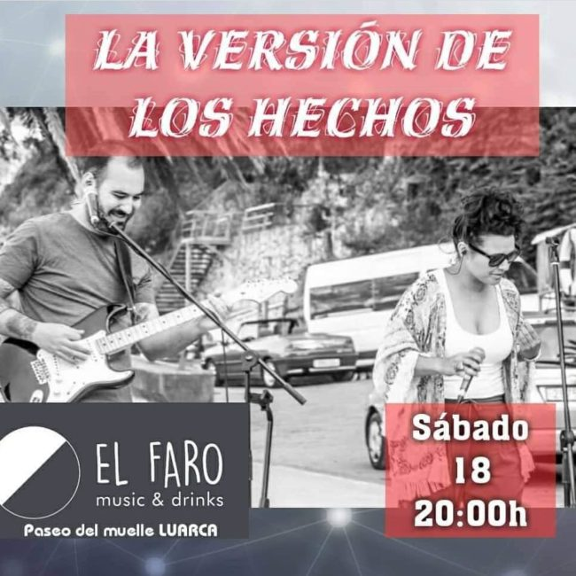 """Concierto de """"La versión de los hechos"""" en El Faro"""
