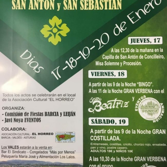 Fiestas de San Antón y San Sebastián
