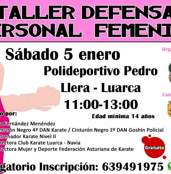 Taller defensa personal femenina
