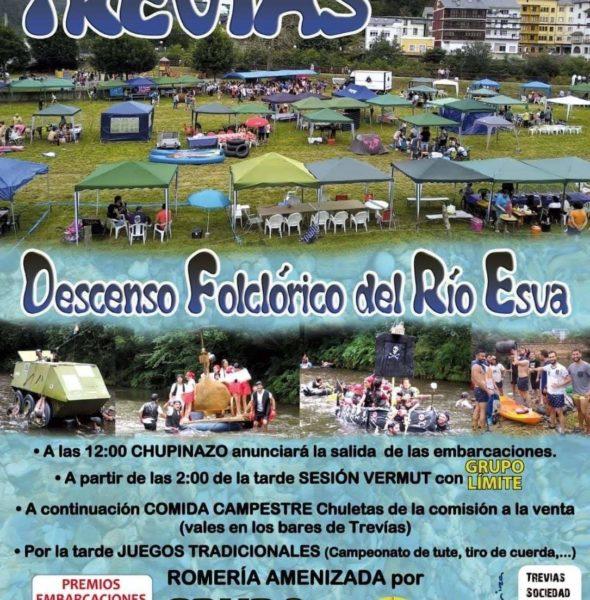 Descenso Folclorico del río Esva 2019