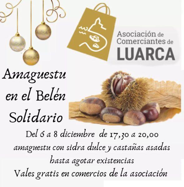 Amagüestu en el Belén Solidario
