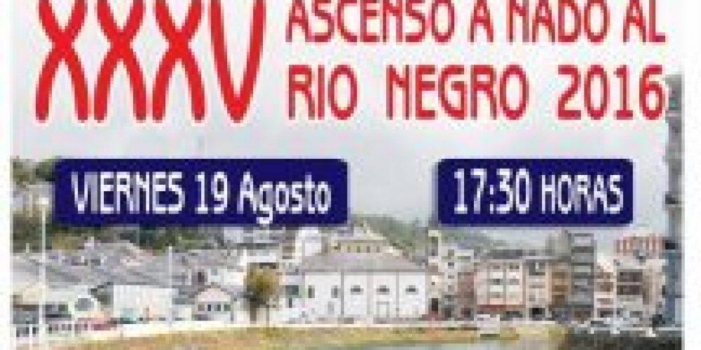XXXV ascenso al Rio Negro