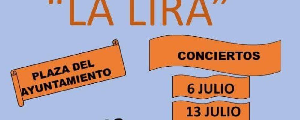 Conciertos de verano 2018 la de banda de música «La Lira»