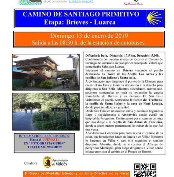 Camino de Santiago primitivo: Brieves – Luarca