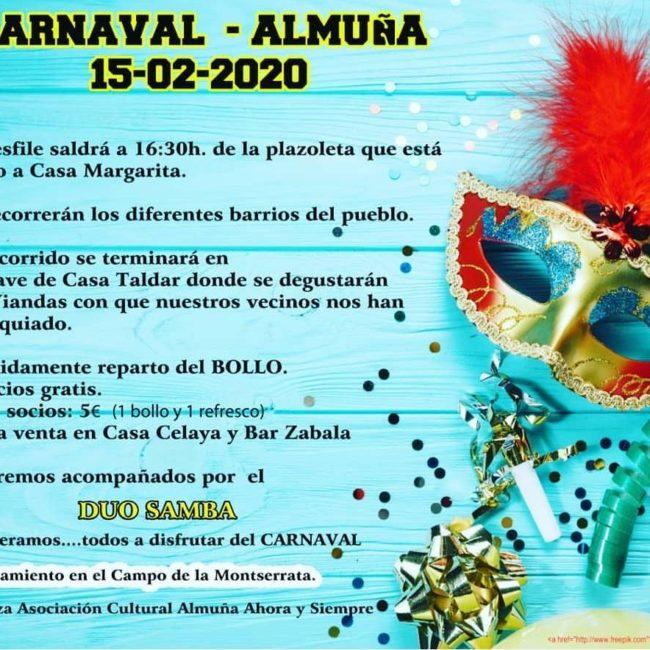 Carnaval en Almuña