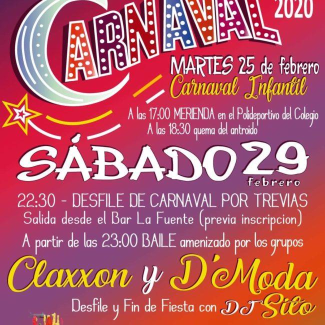 Carnaval en Trevías 2020