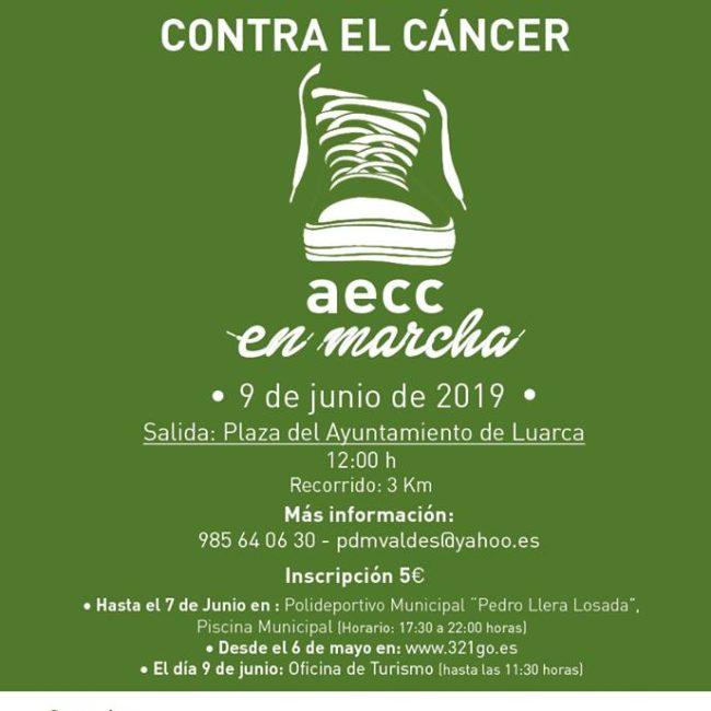 """I Carrera Solidaria contra el Cancer """"Luarca Villa del Nobel"""""""