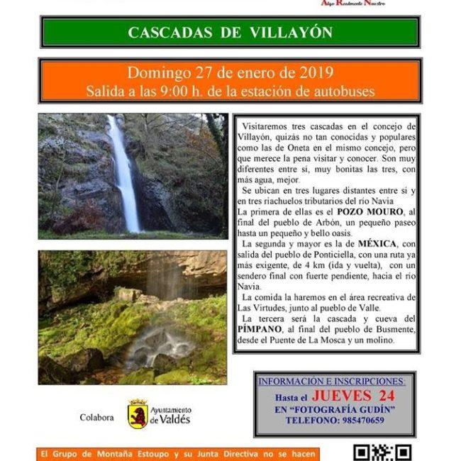 Ruta por las Cascadas de Villayón