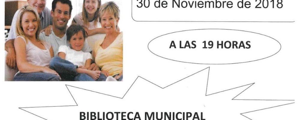 Charla: «Abuelos y nietos del siglo XXI»