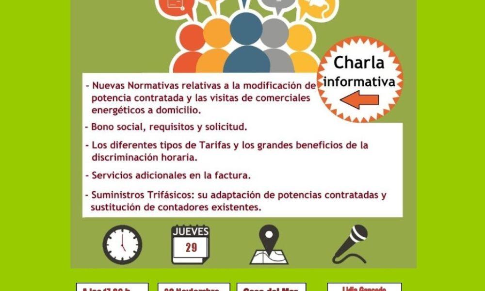 Charla informativa recibo de luz en Luarca