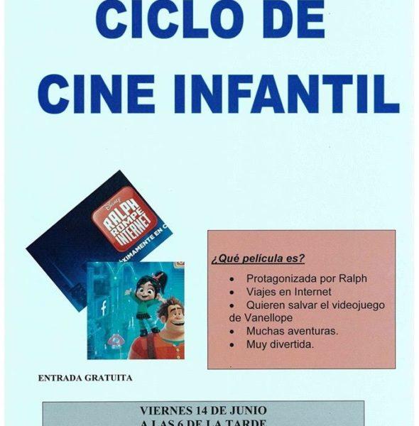 Cine Infantil 'Ralph rompe Internet'