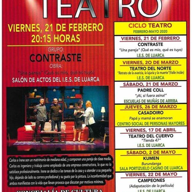 Teatro en Luarca 2020