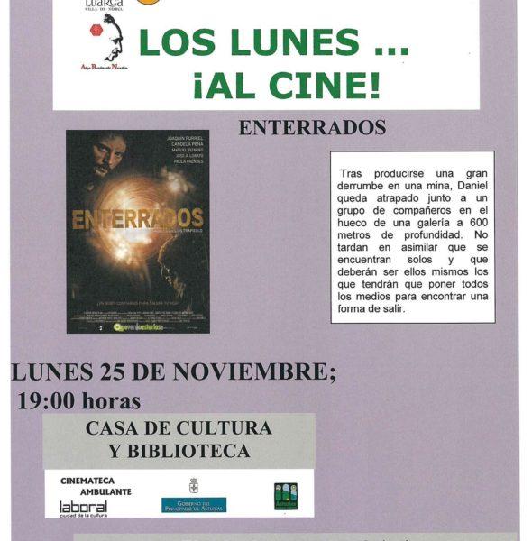 Cine: 'Enterrados'