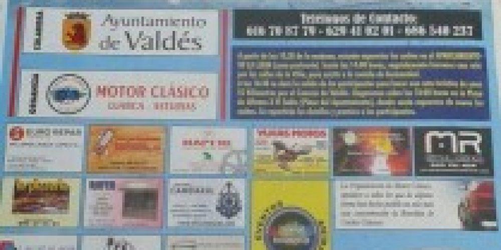 """XI edición del Revoltijo de Coches Clásicos """"Villa de Luarca"""""""