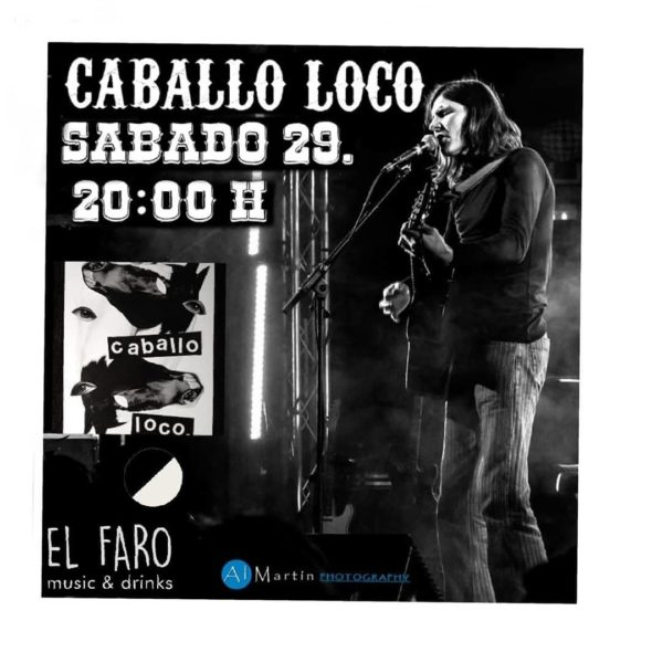 Concierto de Caballo Loco en El Faro