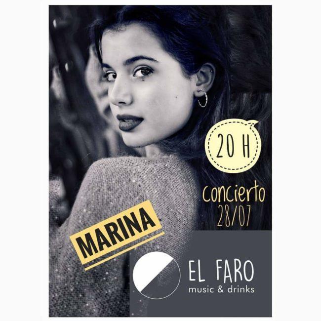 Concierto de Marina en 'El Faro'