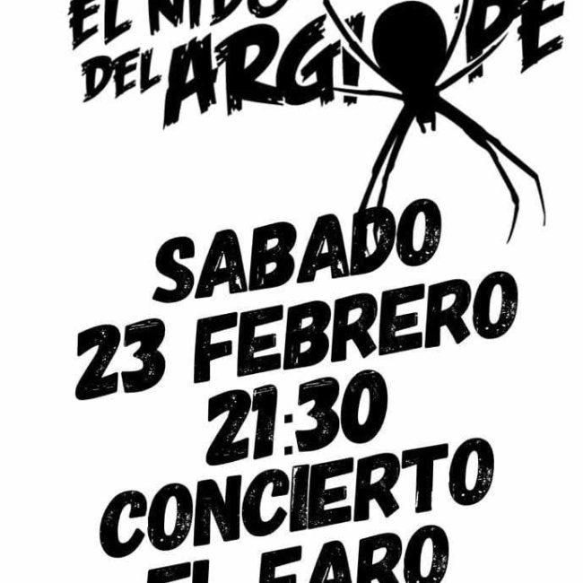 """Concierto de """"El nido del Argiope"""" en El Faro"""