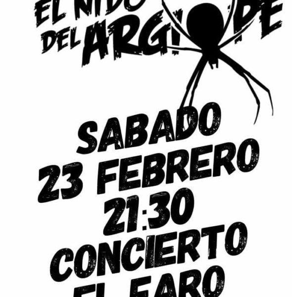 Concierto de «El nido del Argiope» en El Faro