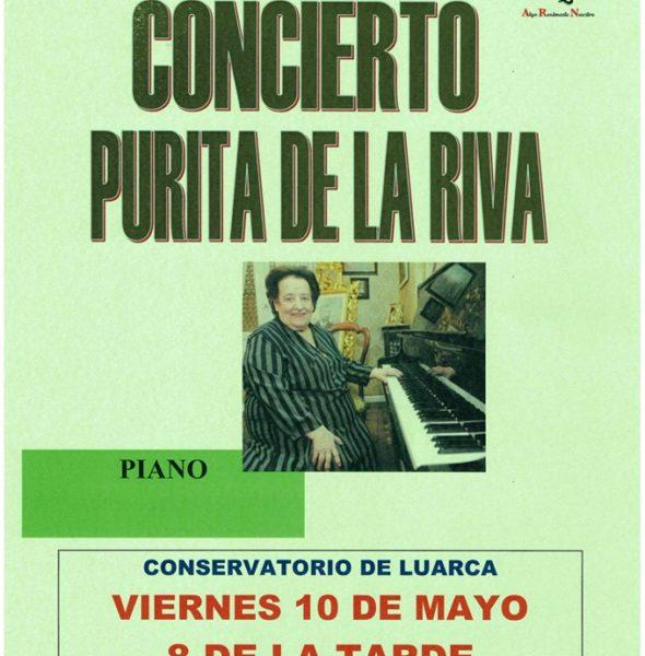 Concierto de piano por Purita de la Riva