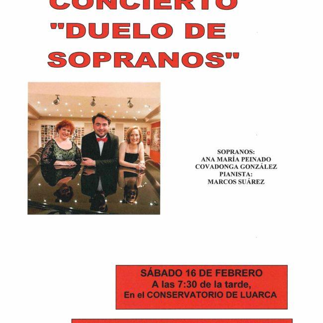 """Concierto """"Duelo de Sopranos"""""""