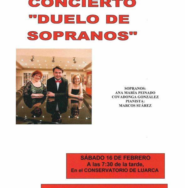 Concierto «Duelo de Sopranos»