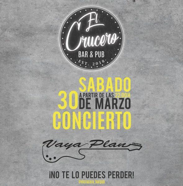 Concierto Vaya Plan en El Faro