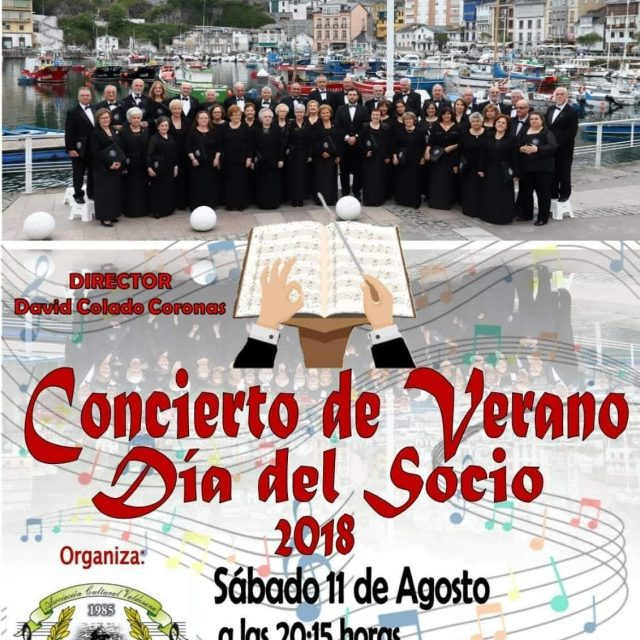 """Concierto de Verano """"Día del Socio"""" de la Coral Villa blanca"""