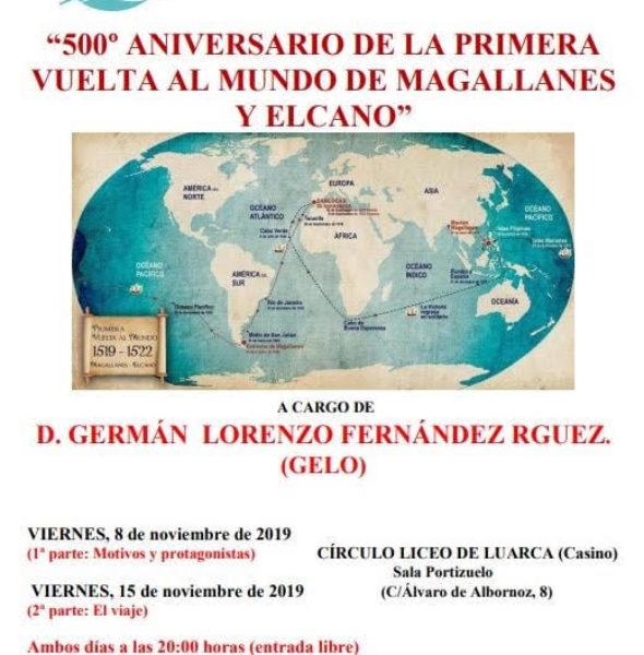 Conferencia '500º aniversario de la vuelta al mundo de Magallanes y Elcano'