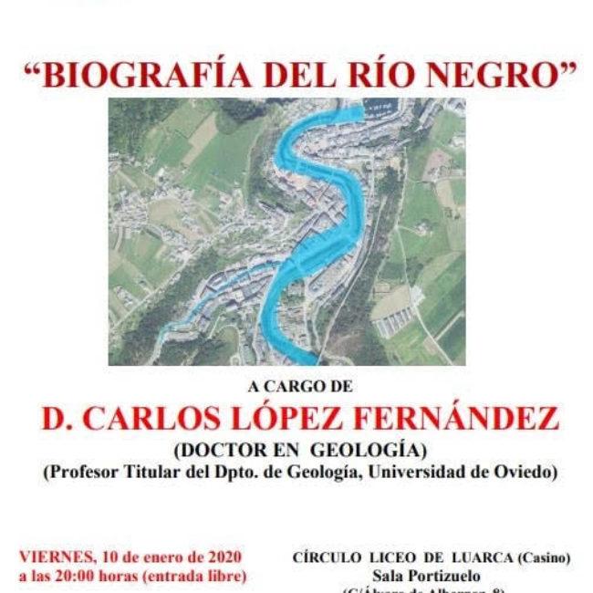 Conferencia 'Biografía del Río Negro'