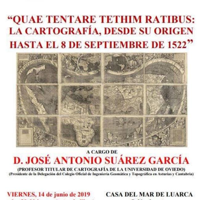 Conferencia 'La cartografía desde su origen hasta 1522'