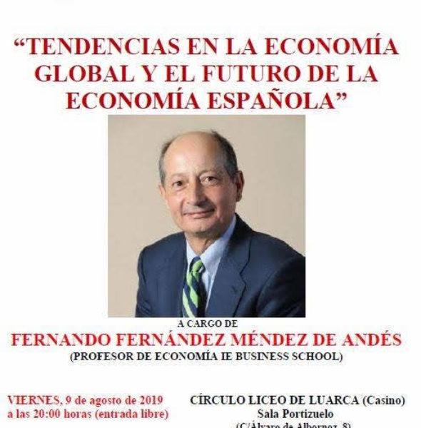 Conferencia «Tendencias en la economía global y el futuro de la economía española»