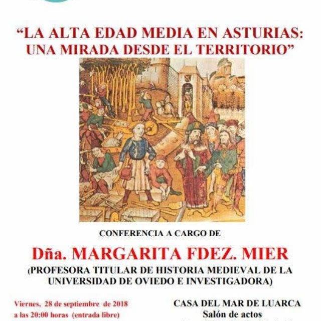 """Conferencia """"La alta edad media en Asturias: una mirada desde el territorio"""""""
