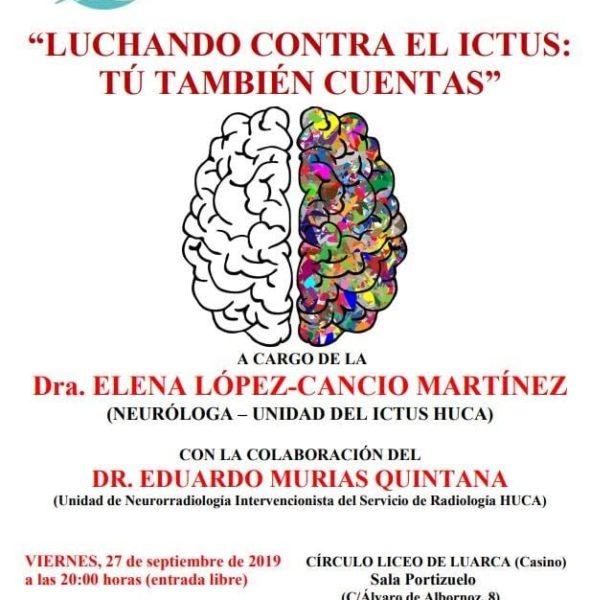 Conferencia 'Luchando contra el ictus'