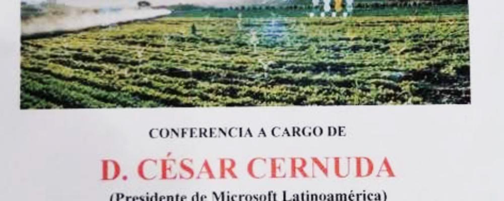 """Conferencia """"Generando oportunidades con la inteligencia artificial y la nube"""""""