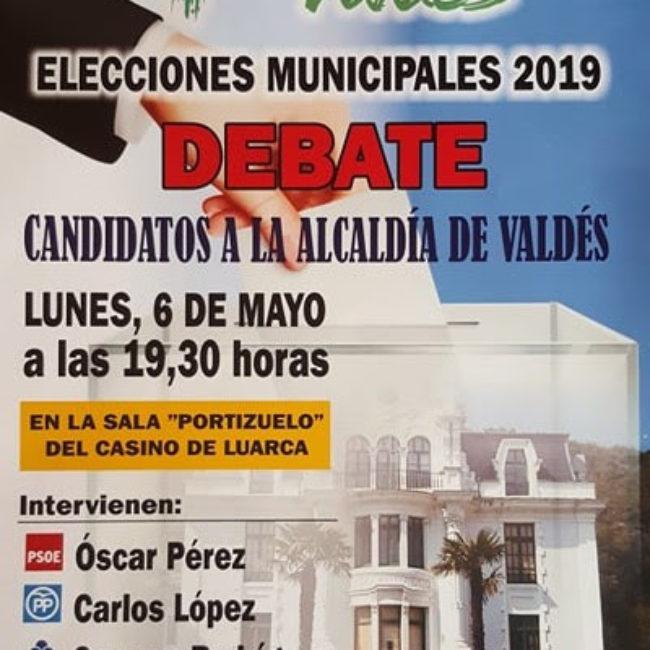 Debate candidatos a la alcaldía de Luarca