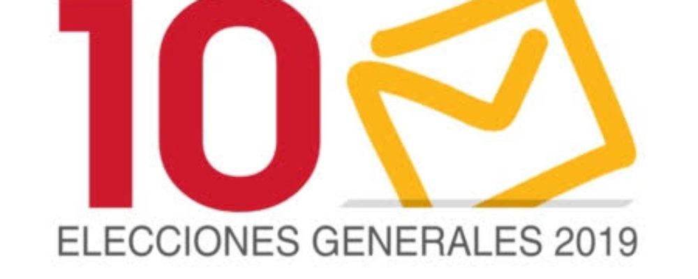 Resultados elecciones generales en Luarca – 10N 2019