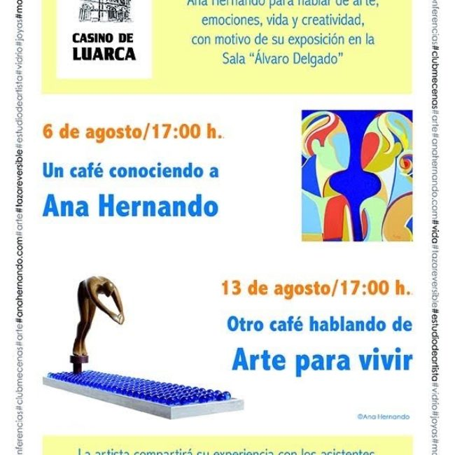 Encuentros con la escultora Ana Hernándo