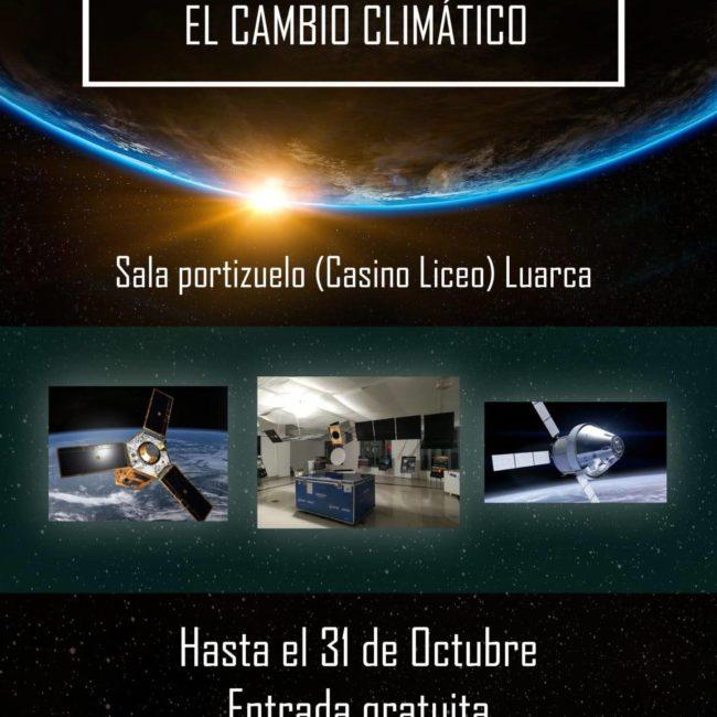 Exposición de equipos astronáuticos