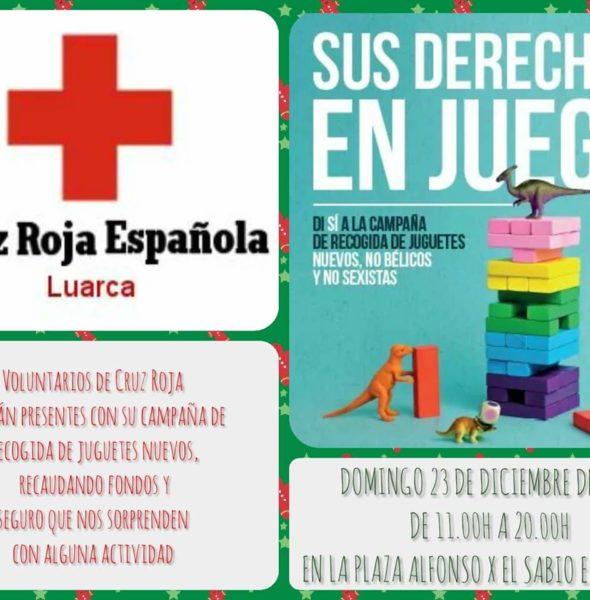 Recogida de juguetes de Cruz Roja