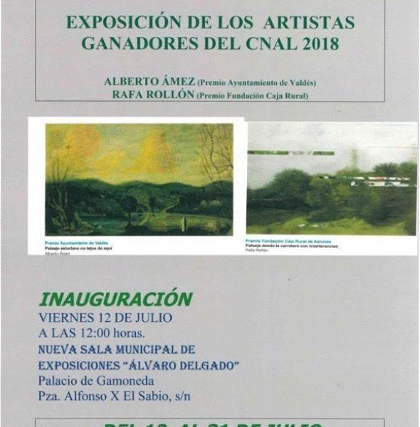 Exposición de artistas ganadores del CNAL 2019