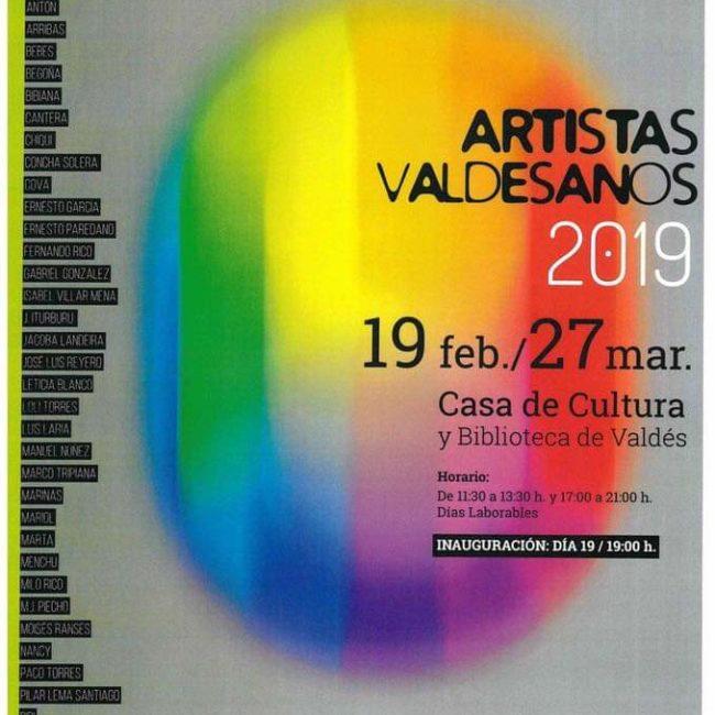 [APLAZADO] Exposición artistas valdesanos 2020
